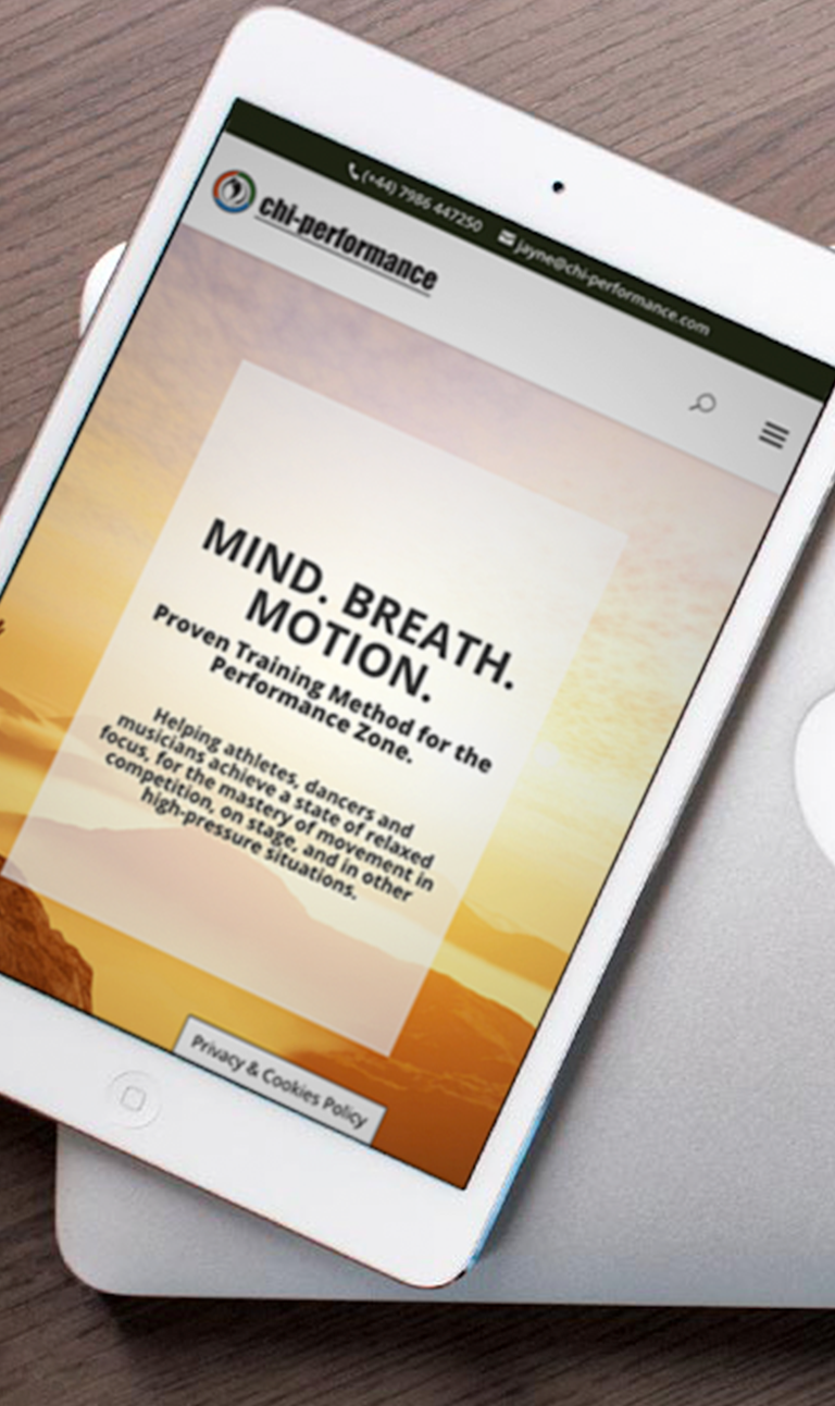 Chi Performance Mind Breath Motion